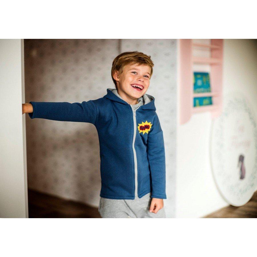 Holo Kids- Bluza Bang Niebieska | Esy Floresy
