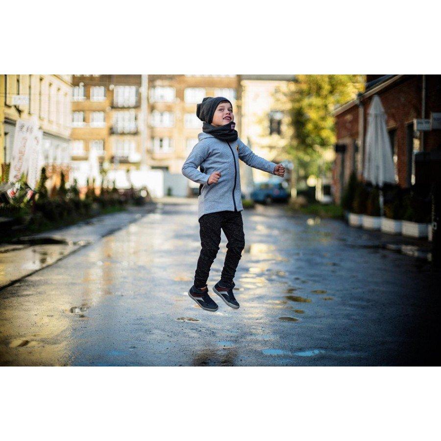Holo Kids- Spodnie Ocieplane Bang Ciemno Szare | Esy Floresy