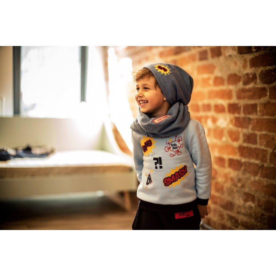 Holo Kids- Czapka i komin Bang Niebieska | Esy Floresy