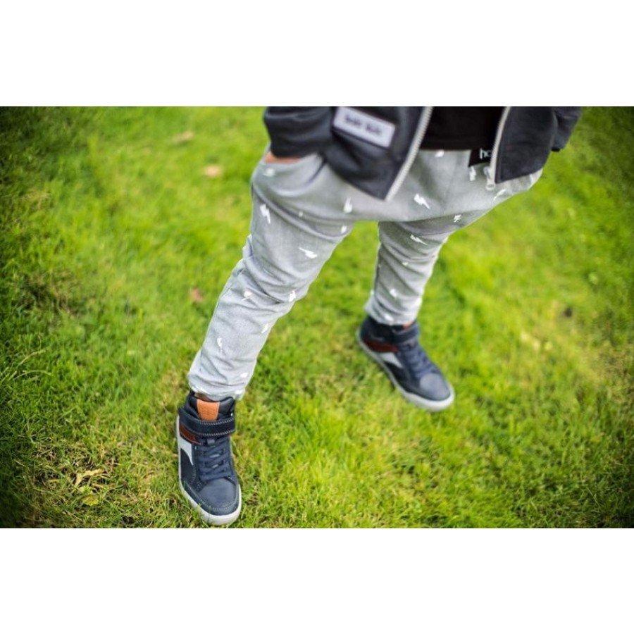 Holo Kids- Spodnie Pioruny Szare | Esy Floresy