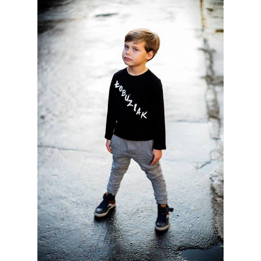 Holo Kids- Koszulka Łobuziak Czarna 92/98 cm | Esy Floresy