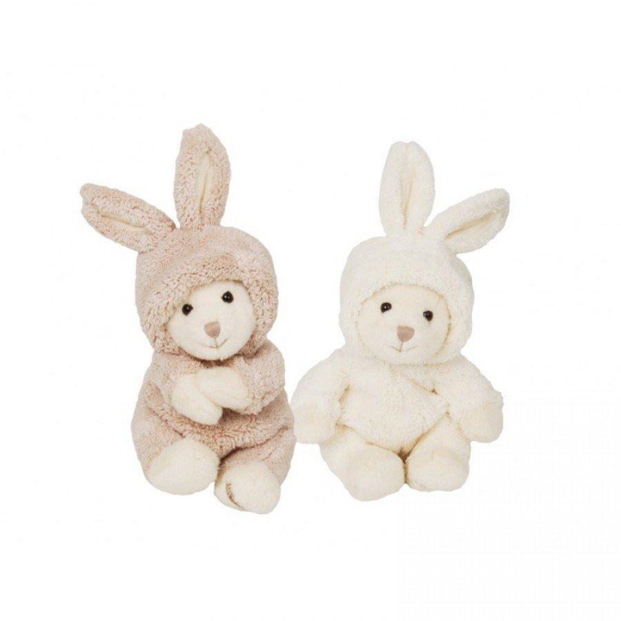 Bukowski Design - Miś Ziggy w przebraniu królika Biały | Esy Floresy