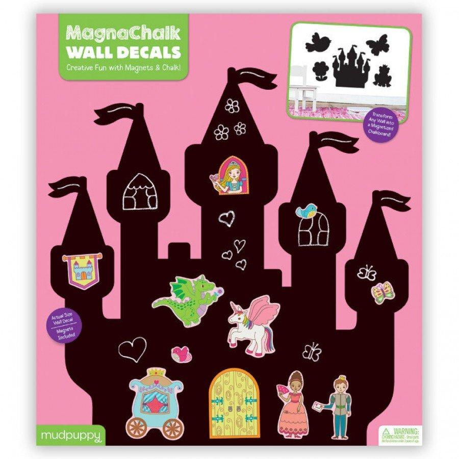 Mudpuppy - Naklejki magnetyczne - tablice kredowe Księżniczki | Esy Floresy