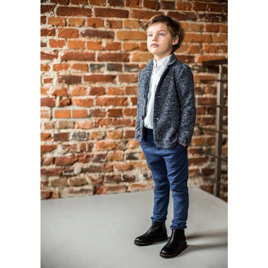Holo Kids- Spodnie z przeszyciami Niebieskie | Esy Floresy