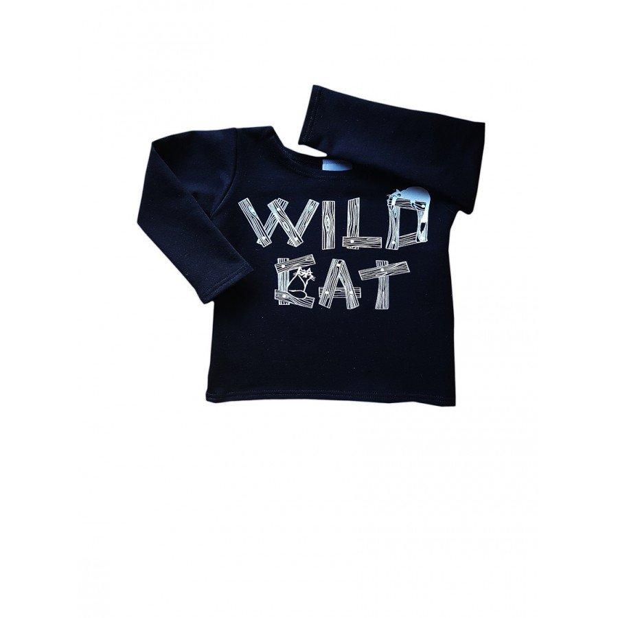 Wild Cat - Bluza Koty Czarna | Esy Floresy