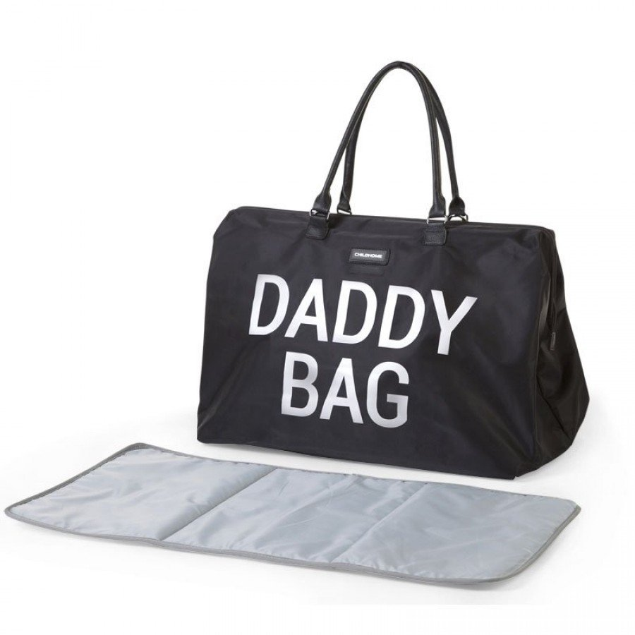 Childhome - Torba Podróżna Daddy Bag Czarna - Esy Floresy
