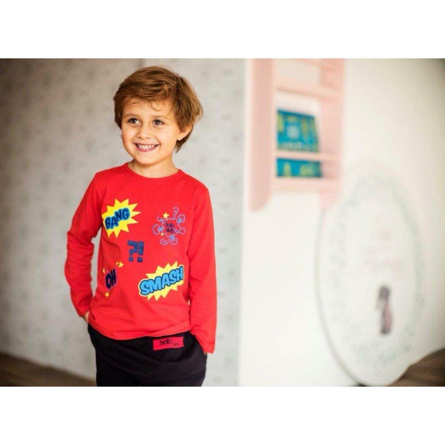 Holo Kids - Koszulka Bang Czerwona  | Esy Floresy