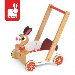Janod - Szalony królik wózek chodzik | Esy Floresy