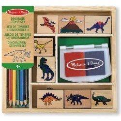 Melissa & Doug - Zestaw stempelków Dinozaury | Esy Floresy