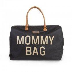 Childhome - Torba Podróżna Mommy Bag czarno-złota | Esy Floresy