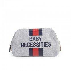 Childhome - Kosmetyczka Baby Necessities paski granatowo-czerwone  | Esy Floresy