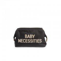 Childhome - Kosmetyczka Baby Necessities czarno-złota | Esy Floresy