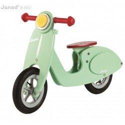 Janod - Rowerek biegowy miętowy Scooter | Esy Floresy