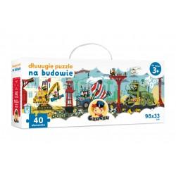 CzuCzu Dłuuugie puzzle Na budowie dla dzieci 3+ | Esy Floresy