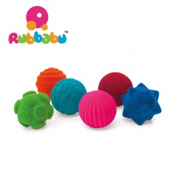 Rubbabu - Sensoryczna piłka z delikatną fakturą | Esy Floresy