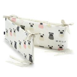 La Millou - Ochraniacz do łóżeczka - Doggy Unicorn & Dots   Esy Floresy