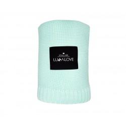 Lullalove Bambusowy koc - delicious mint, miętowy | Esy Floresy