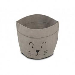 Jollein - Pojemnik papierowy na akcesoria mały lew szary | Esy Floresy