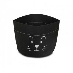 Jollein - Pojemnik papierowy na akcesoria mały lew czarny | Esy Floresy