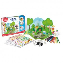 Maped creativ - zestaw ogród do dekorowania . | Esy Floresy