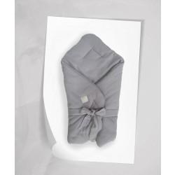 Beztroska - Rożek muślinowy szary  | Esy Floresy