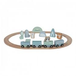 Little Dutch -  Pociąg z torami Błękit .   Esy Floresy