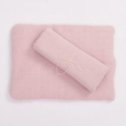 Bim Bla - Poduszka z bawełny organicznej Jasny Róż | Esy Floresy