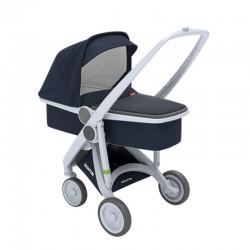 Greentom - Wózek Carrycot grey - blue | Esy Floresy
