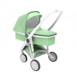 Greentom - Wózek Carrycot white-mint | Esy Floresy