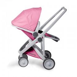 Greentom - Wózek Reversible grey - pink | Esy Floresy