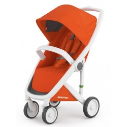 Greentom - Wózek Classic white - orange | Esy Floresy