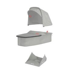 Greentom - Carrycot grey materiał   Esy Floresy