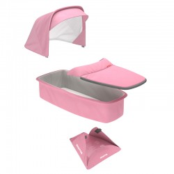Greentom - Carrycot pink materiał | Esy Floresy