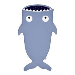Baby Bites - Śpiworek zimowy Shark (2-6 lat) Slate Blue | Esy Floresy