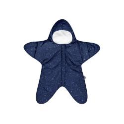 Baby Bites - Kombinezon zimowy Star (3-6 miesięcy) Navy Blue | Esy Floresy