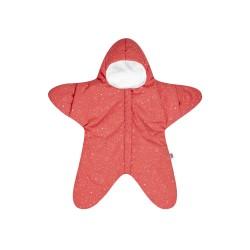 Baby Bites - Kombinezon zimowy Star (3-6 miesięcy) Coral | Esy Floresy