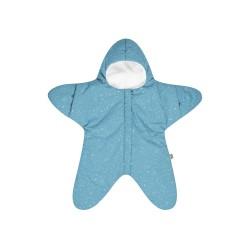 Baby Bites - Kombinezon zimowy Star (3-6 miesięcy) Turquoise | Esy Floresy