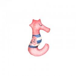 Baby Bites - Poduszka do karmienia Sea Horse 55 x 35 cm Pink | Esy Floresy