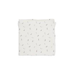 Baby Bites - Pieluszka muślinowa 120 x 120 cm Socks White | Esy Floresy