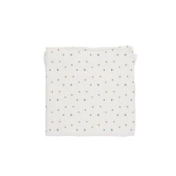 Baby Bites - Pieluszka muślinowa 120 x 120 cm Flies White | Esy Floresy