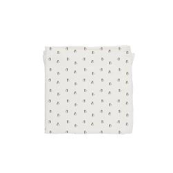 Baby Bites - Pieluszka muślinowa 120 x 120 cm Penguins White | Esy Floresy