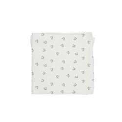 Baby Bites - Pieluszka muślinowa 120 x 120 cm Chicks White | Esy Floresy