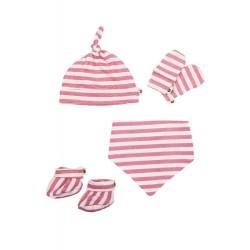 Baby Bites - Zestaw dla noworodka Sailor (0-3 miesięcy) Pink | Esy Floresy