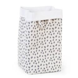 Childhome - Pudełko płócienne 32 x 32 x 60 cm Leopard | Esy Floresy