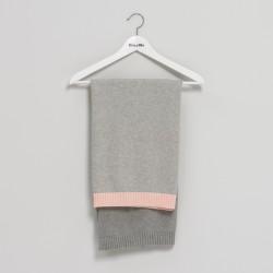 Bim Bla - Kocyk So Gray Jasny Róż | Esy Floresy