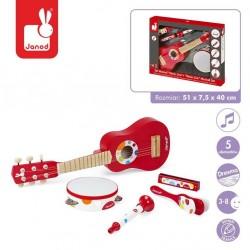 Janod - Zestaw instrumentów duży Confetti | Esy Floresy