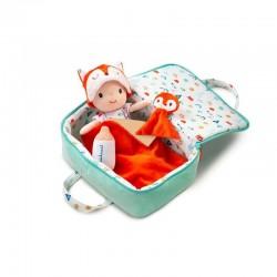 LILLIPUTIENS - Lalka z zestawem podróżniczym z walizeczką i akcesoriami Alex 12 m+ | Esy Floresy