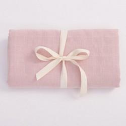 Bim Bla - Otulacz Muślinowy z bawełny organicznej Jasny Róż  | Esy Floresy