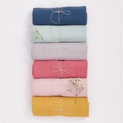 Bim Bla - Otulacz Muślinowy z bawełny organicznej Musztardowy | Esy Floresy