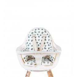 Childhome - Dwustronny ochraniacz do krzesełka Evolu 2 Jersey Leopard   Esy Floresy
